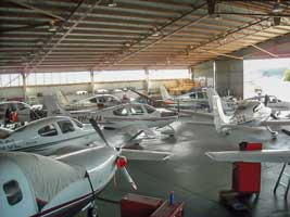 Blue Demon Aviation Cirrus Aircraft Assembly Centre